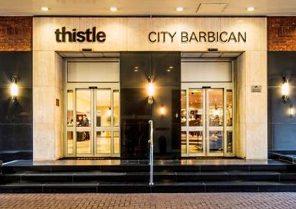 Christmas Parties 2019 at the Thistle City Barbican, London