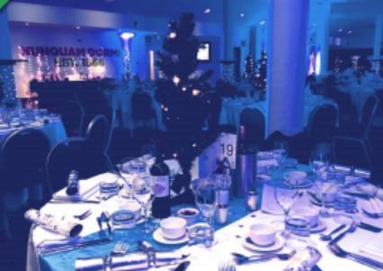 Festive Glamour Christmas Parties 2019 at Harlequins Rugby Football Club, Twickenham