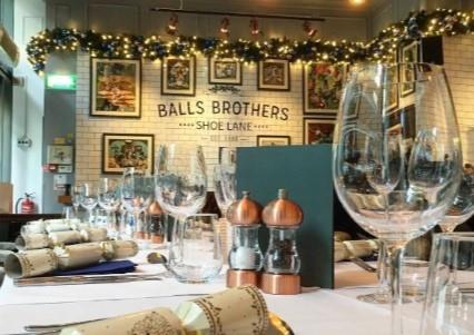 Christmas Parties 2019 at Balls Brothers Shoe Lane, London EC4