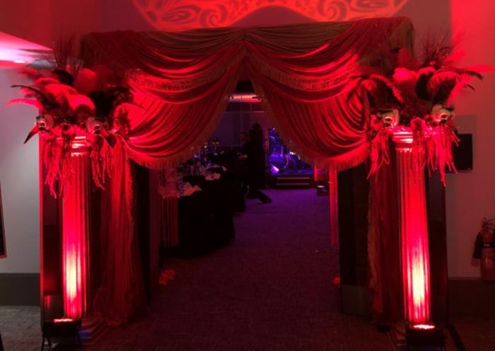 Venetian Masquerade Ball Decorations Magical StratforduponAvon 60 Office 27