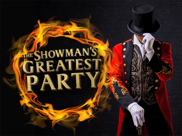 The Showman's Greatest Party at the Conservatory, Luton Hoo Walled Garden 2019