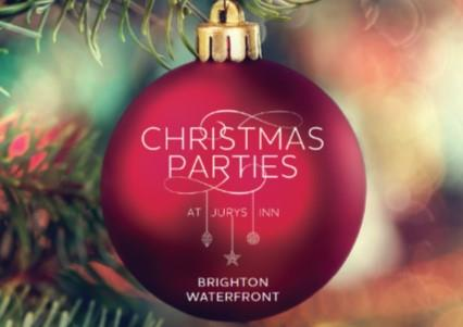 Christmas Parties 2019 at Jurys Inn Brighton Waterfront
