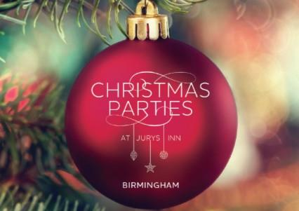 Shared & Private Christmas Parties 2019 at Jurys Inn Birmingham