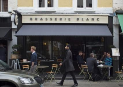 Celebrate Christmas Parties 2018 at Brasserie Blanc Charlotte Street, W1T