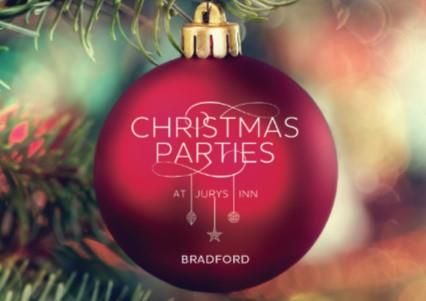 Celebrate Christmas Parties 2018 at Jurys Inn Bradford
