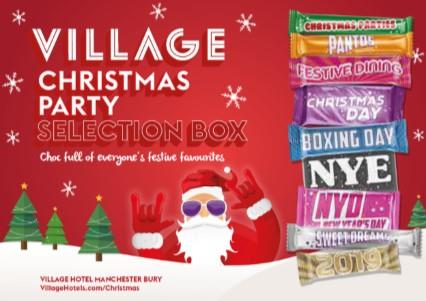 Selection Box Christmas Parties 2019 at the Village Hotel Manchester Bury
