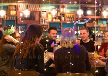 Celebrate Christmas Parties 2019 at Las Iguanas Birmingham