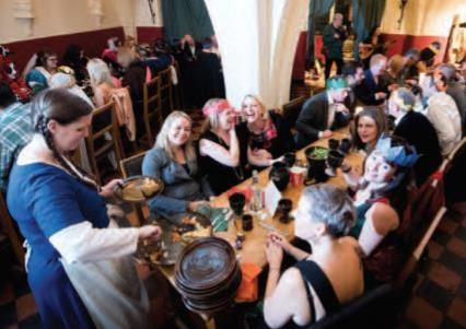 Unique Mediaeval Banqueting Christmas Parties 2019 at Warwick Castle