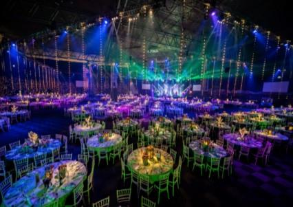 Moroccan Fire Nights at The NEC, Birmingham for Christmas Parties 2019
