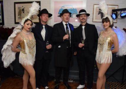 Great Gatsby Christmas Parties 2020 at Mandeville Hotel, London W1U