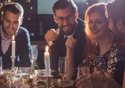 The Night Before Christmas Parties 2019 at Mercure Box Hill Burford Bridge Hotel & Spa, Dorking