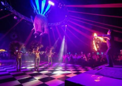 The Dream Circus Christmas Parties 2019 at Newcastle upon Tyne Racecourse