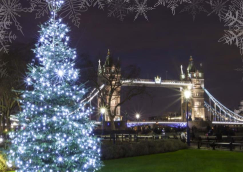 Tower Bridge Christmas Lights 2021 Christmas Parties 2021 At Leonardo Royal Hotel London Tower Bridge E1 Office Xmas Venue And Party Nights From Christmas Parties Unlimited