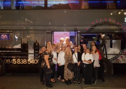 Christmas Parties 2021 with the Original Party Bus, London
