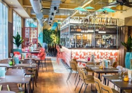 Let's Celebrate Christmas Parties 2019 at Las Iguanas Brunswick Square, London, WC1N