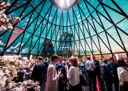 Celebrate Christmas Parties 2020 at Searcys at the top of The Gherkin, London EC3A