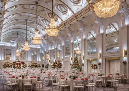 Christmas Parties 2021 at The De Vere Grand Connaught Rooms, London WC2B 5DA