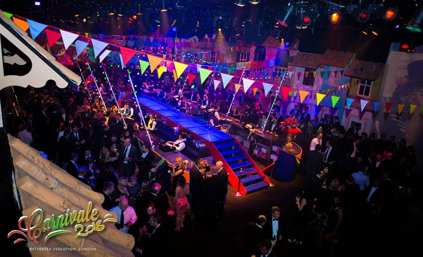 Carnivale Shared Christmas Parties 2020 at Evolution London SW1
